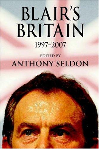 Download Blair's Britain, 19972007