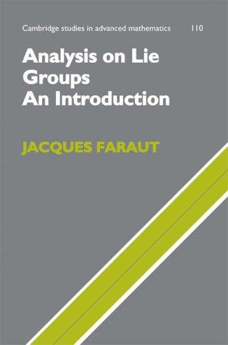 Download Analysis on Lie Groups
