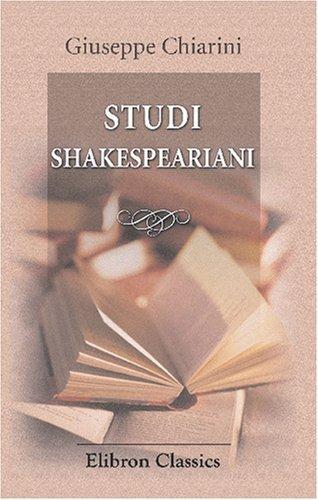 Studi Shakespeariani