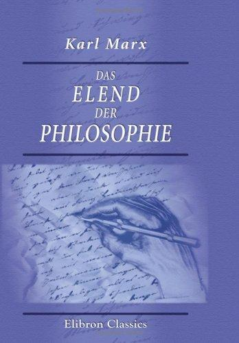 Download Das Elend der Philosophie