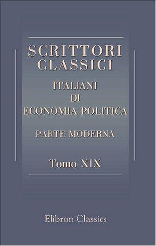Download Scrittori classici italiani di economia politica
