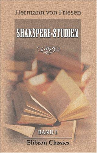 Shakspere-Studien