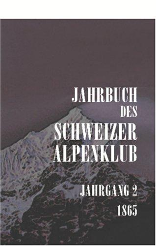 Jahrbuch des Schweizer Alpenclub