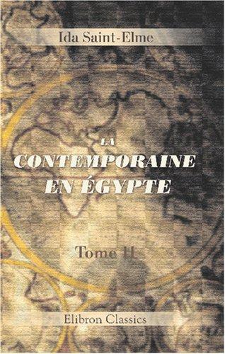 Download La contemporaine en Égypte