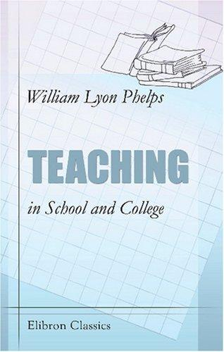 Download Teaching in School and College
