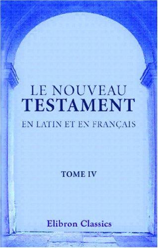 Download Le Nouveau Testament en latin et en français