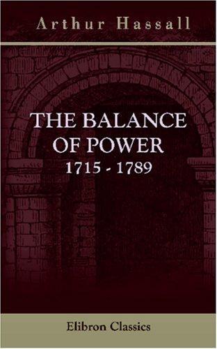 The Balance of Power. 1715 – 1789