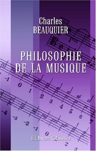 Download Philosophie de la musique
