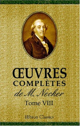 Download uvres complètes de M. Necker