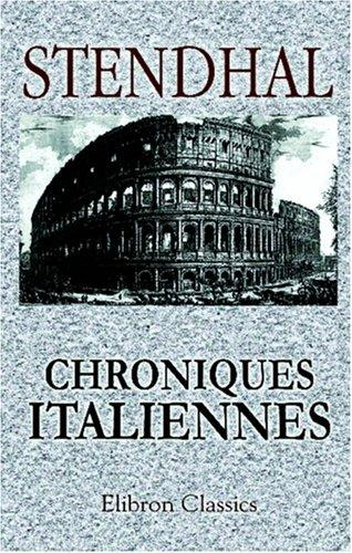 Download Chroniques italiennes