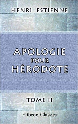 Download Apologie pour Hérodote