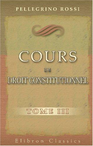 Download Cours de droit constitutionnel