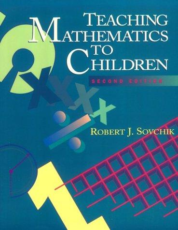 Teaching Mathmatics to Children