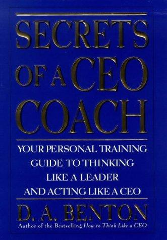 Download Secrets of a CEO coach