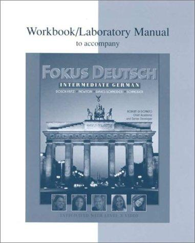 Workbook/Lab Manual to accompany Fokus Deutsch