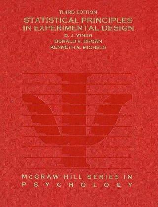 Download Statistical principles in experimental design