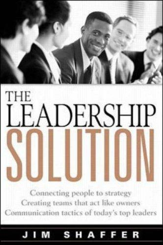 Download The Leadership Solution