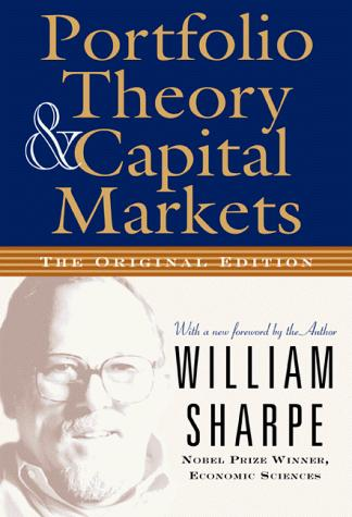Image for Portfolio Theory and Capital Markets (The Original Edition)