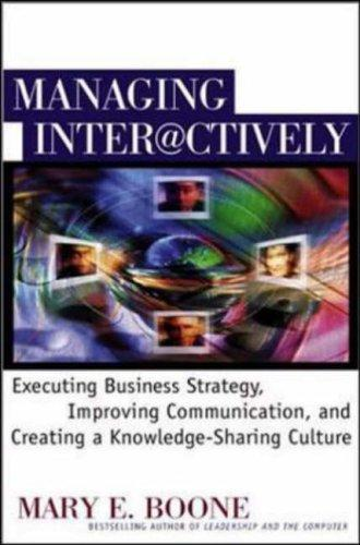 Managing Interactively