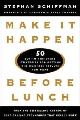 Download Make It Happen Before Lunch