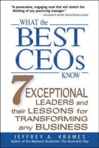Download What the Best CEOs Know