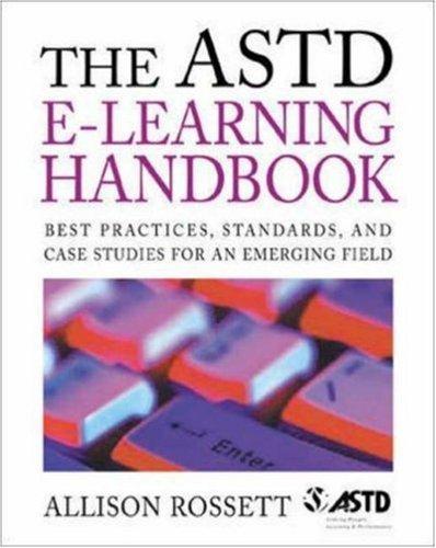 The ASTD e-learning handbook
