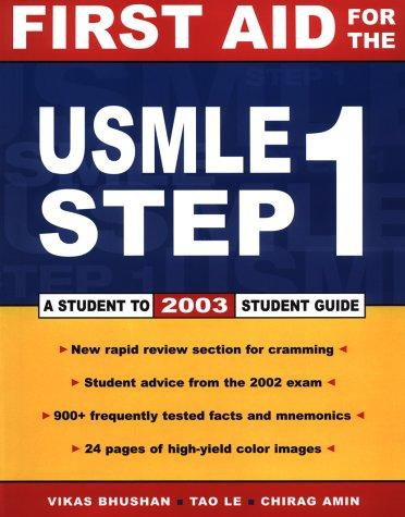 First Aid for the USMLE Step 1