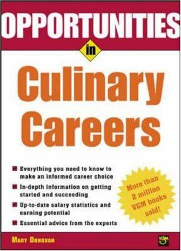 Download Opportunities in culinary careers