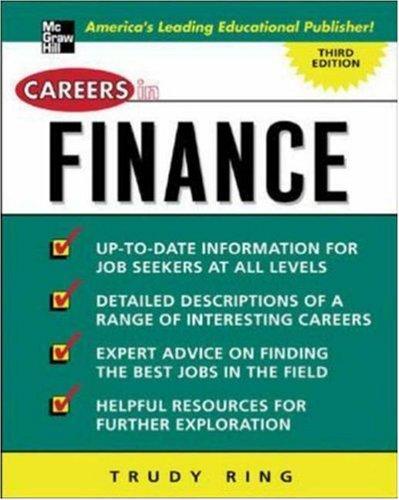 Download Careers in finance