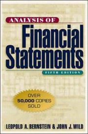 Analysis Of Financial Statements PDF Download