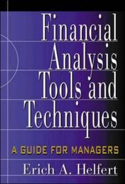 Financial Analysis: Tools And Techniques: A Guide For Managers PDF Download