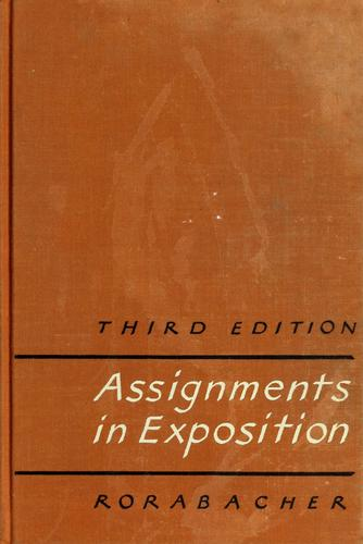 Assignments in exposition.