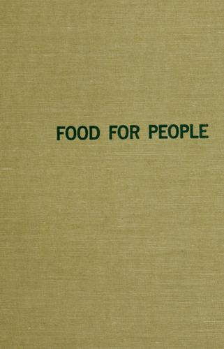 Food for people.