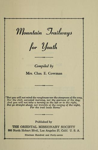 Mountain trailways for youth.
