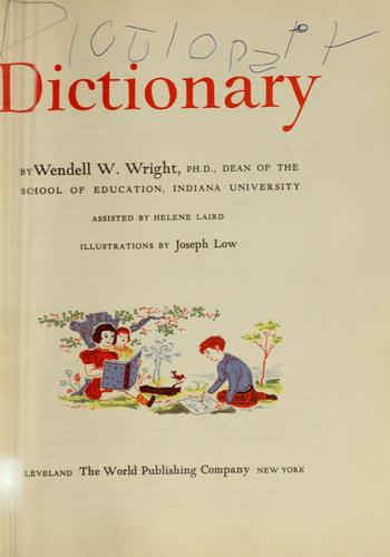 The rainbow dictionary (Open Library)