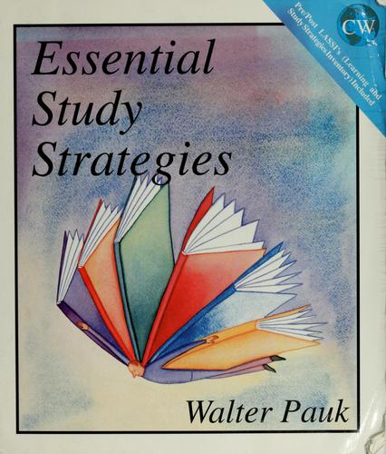 Essential study strategies