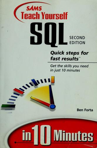 Download Sams teach yourself SQL in 10 minutes