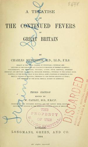 Download A treatise on the continued fevers of Great Britain