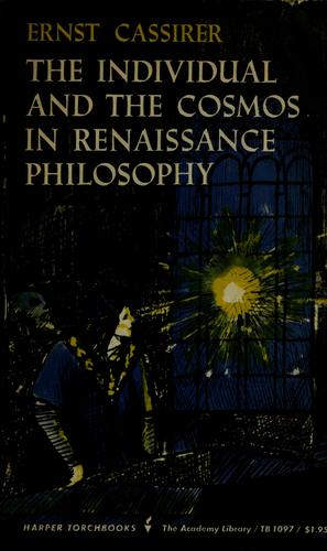 Download The individual and the cosmos in Renaissance philosophy.