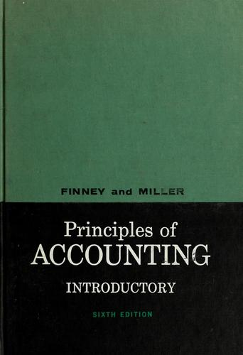 Principles of accounting, introductory