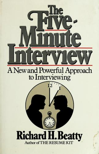 Download The five minute interview