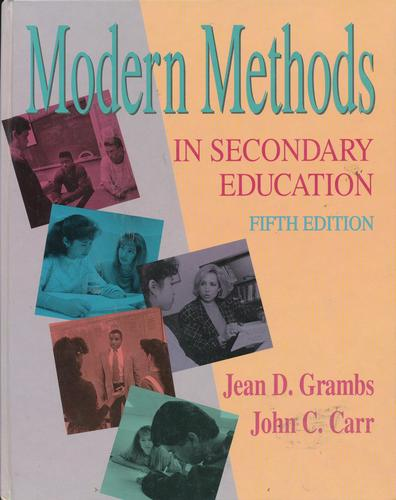 Download Modern methods in secondary education