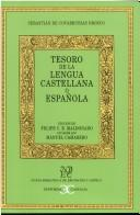 Download Tesoro de la lengua castellana o española