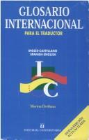 Glosario internacional para el traductor =