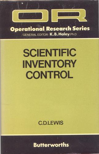 Download Scientific inventory control