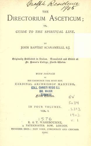 Download The directorium asceticum =
