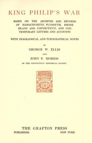 Download King Philip's war