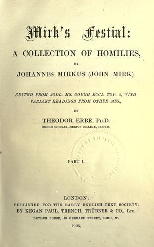 Mirk's Festial