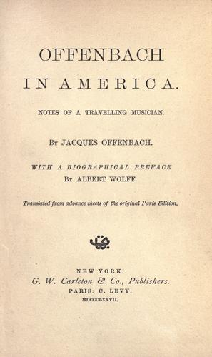 Download Offenbach in America.