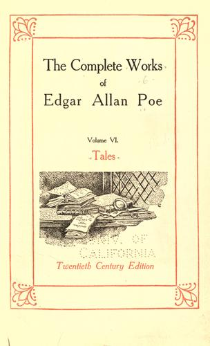 Download The complete works of Edgar Allan Poe.
